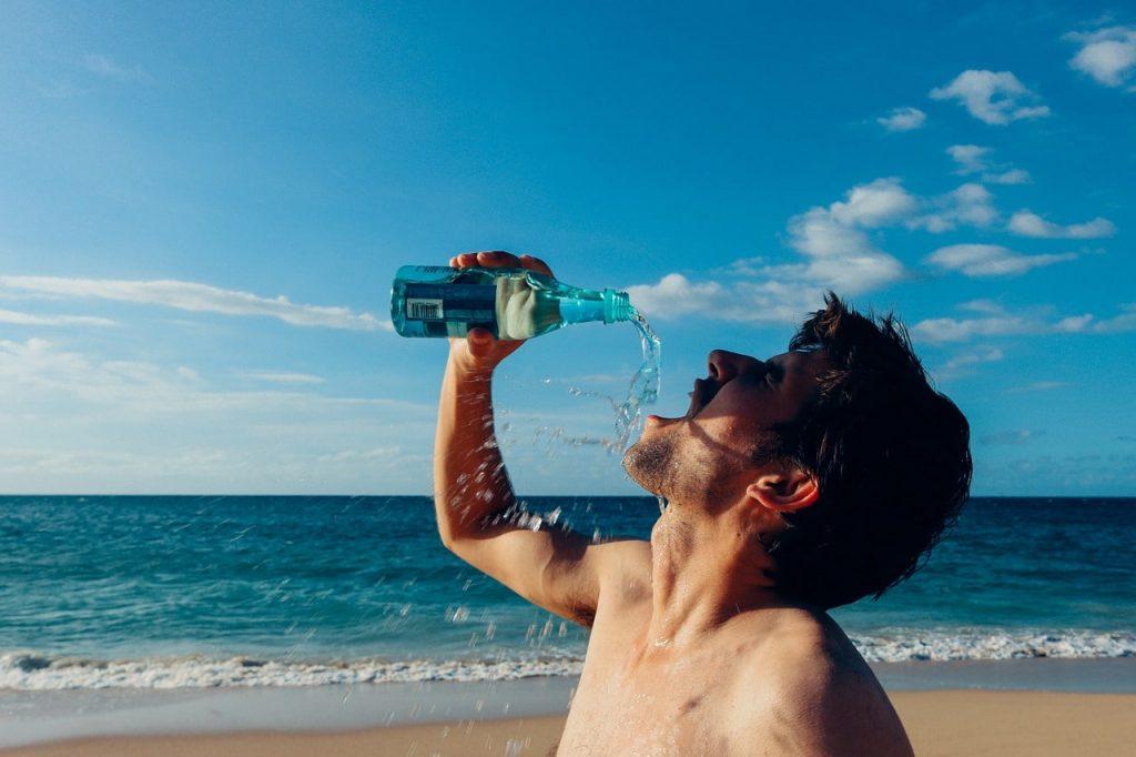 thirsty-man-drinks